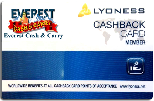 Everest Cash & Carry Lyoness Card