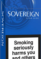 Bensen & hedges Sovereign King Size Blue