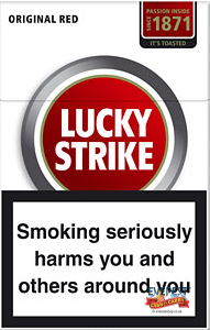 Lucky Strike Kingsize Red