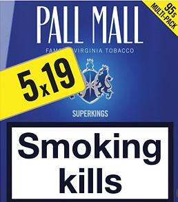Pall Mall SuperKings Blue
