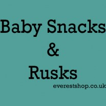 Baby Snacks and Rusks