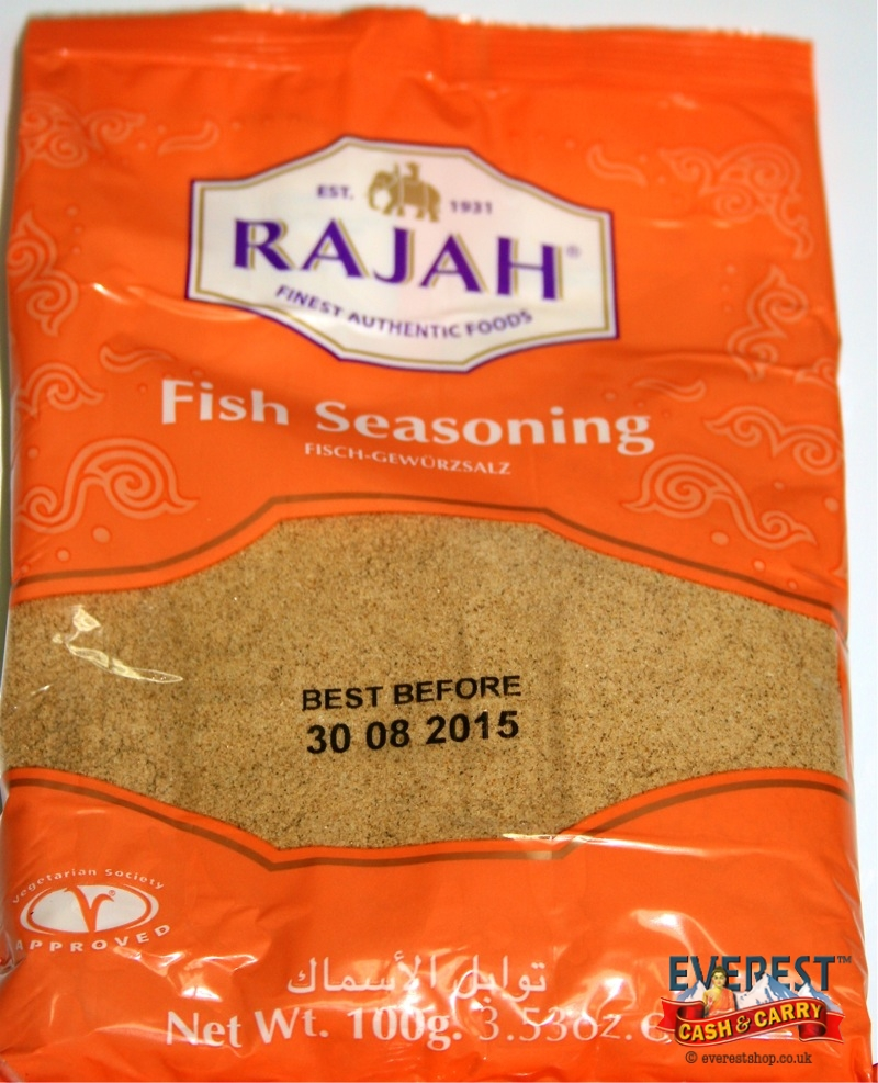 Rajah fish seasoning 100g everest cash carry for Best fish seasoning